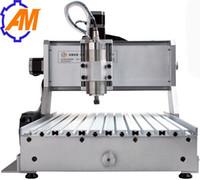Date vente chaude AMAN 3040 800 W cnc routeur machine à bois, 3040 800 W mini pas cher 3d publicité cnc routeur