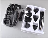8 en 1 Tondeuse professionnelle électrique cheveux rechagerable Tondeuse rasoir tout en un homme kit de toilettage rasage moustache de coupe de cheveux nez