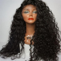 GOOD Full Lace Human Hair Wigs Wavy 7A Brazilian Glueless Fu...