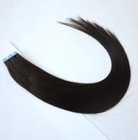 Tape in Skin Human Hair Extensions، Tape Hair Extensions، 40pcs / bag 100g، 50g / Bag