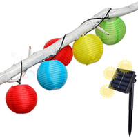 Edison2011 Solar Power 4,8 mt 6 mt Led Laterne String Licht Solar Lampe 20 leds 30 leds Garten Dekoration Lampe