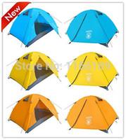 Ультра-легкий 1.8 кг двойной слой bivvy палатка 2 человек кемпинг палатка для пеших походов альпинизм рыбалка турист naturehike