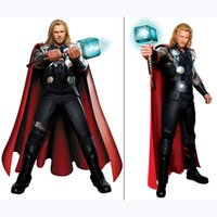2016 Halloween Black Adult men Thor Costume Outfit Halloween...
