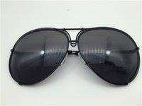 Bir Carreras Ayna P8478 Lens Değişim Araba Pilot ile Ekstra Çerçeve Güneş Gözlüğü Sunglass Büyük Erkekler Tasarım Boyutu Tfupn