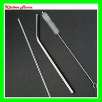 DHL Stainless Steel Drinking Straws Brush for Beer Reusable ...