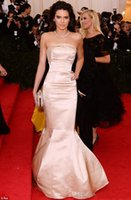 Kendall Jenner Cannes Film Met Gala Celebrity Red Carpet Gow...