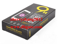 Vaciar paquete al por menor 6 modelo de cajas de papel de alta calidad de cristal templado 9H protector de la pantalla de Sony Samsung 10pcs cada caja de embalaje de DHL