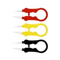 다기능 공구 vaper twizer 포장 코일러 조정 와이어 스 패너 도구 절연 세라믹 핀 따르는 DIY RDA 증기 vape 전자 Cig
