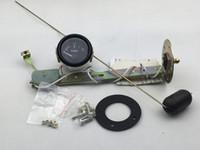 """2 """"inç 52mm Evrensel Araba Yakıt Seviyesi Göstergesi Ölçer Yakıt Şamandıra sensörü Ile E-1/2-F Pointer / otomatik ölçer / araba göstergesi"""