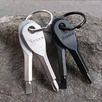 Wholesale New Pocket Mini tool Screwdriver 2 keys stainless ...