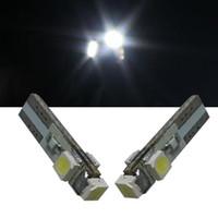 5 لون 10 قطعة / الوحدة t5 3528 3smd led لمبة led لوحة أداة قياس إسفين led لمبة ضوء مصباح لمبة جودة عالية
