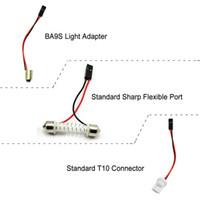 Accesorios de iluminación Conectores de cables LED de automóviles modificados y conectores FEMAIL para conector Doma Panel Luz Festoon / T10 / BA9S / S25 / Spring