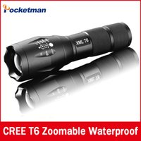 E17 CREE XM- L T6 2400Lumens cree led Torch Zoomable cree LED...