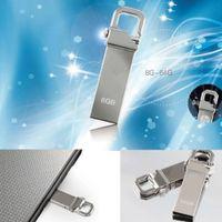 100 % 새 메탈 Pendrive 8 기가 바이트 16 기가 바이트 32 기가 바이트 64 기가 바이트 U 디스크 메모리 스틱 펜 키 체인 플래시 드라이브 메탈 USB 2.0