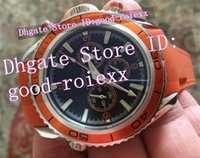 New Style AAA Men' s Orange Bezel Quartz Chronograph Wat...