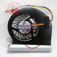 Novo ventilador de resfriamento Laptop original para MSI GE60 16GC 16GA GE70 1756 PAAD06015SL 5 V 0.55A