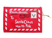 sacs-cadeaux de bonbons d'enveloppe de Noël Creative produits de décoration de Noël Carte de Noël d'argent Porte-carte-cadeau Boîte FP04