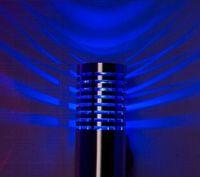 Montage mural Ampoule LED 2W 110V 220V pour l'éclairage intérieur salle de bains moderne Lampe décorative Fixtures Rouge Bleu Vert Chaud Blanc CE ROSH