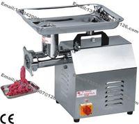 Envío Gratis 220 KG / H Comercial Eléctrico Auto Restaurante Carnicero Casa Salchicha Pescado Carne Carne Picadora Máquina Picadora de Picadora de Picadora