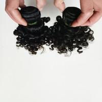 ملكة جميلة البرازيلي عذراء الشعر نوع جديد قصير 6-12 بوصة غريب مجعد الأمريكية السوداء امرأة أفريقية شعبية الشعر الهندي 50 جرام / قطعة 6 قطعة / الوحدة