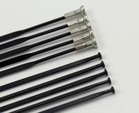 شحن مجاني 10 قطعة / الوحدة عمود PSR ايرو 1432 المتحدث مستقيم سحب T302 الفولاذ المقاوم للصدأ الأسود المتحدثون