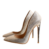 The new spring and summer Pointed high- heeled shoes Fine wit...