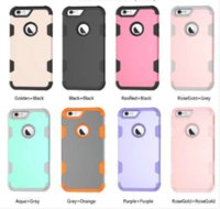 Iphone Layer In X Dual Soft Plus Armor 3 Silicone Hard Back Case For Shockproof 1 6 6s 7 8 Hybrid Samsung S8 Protective Cell Phone S9 C Nsnf