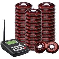 SINGCALL Coaster Paging-System, Wireless Guest Paging-Warteschlangensystem, Benachrichtigen der Kunden Wenn das Gericht in Ordnung ist, ein Sender und 30 Pager