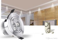 LED 스포트 라이트 천장 조명 3W / 5W. 알루미늄 작은 스포트 라이트, 창문 불빛 TV 스포트 라이트 통로 복도