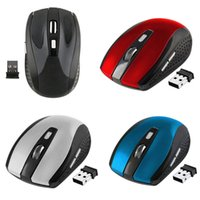 USB Receiver mouse 2. 4GHz USB Optical Wireless Mouse Smart S...