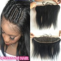 13x4 Brazilian Lace Frontal Closure silky straight Full Fron...