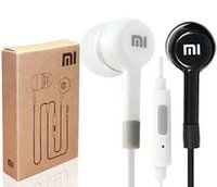 Wholesale- - 3. 5mm Headphones with Remote and Mic For MI4 MI3 ...