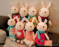 الجملة تيراميسو أفخم لعب دمية METOO الاطفال الهدايا 8 أسلوب، 35CM الأرنب الحيوانات المحنطة LamyToy مع علبة هدية، هدايا عيد الميلاد
