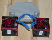 Nuovo kit CPU HP DL380 DL380p G9 Xeon, dissipatore di calore 747608-001 con 2 ventole 747597-001