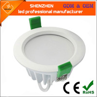IP65 Waterproof Recessed LED Downlight AC85V265 24W 18W 15W ...