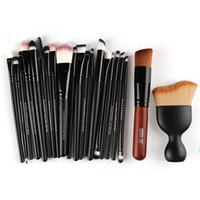 Kit completo di trucco professionale Maange Set completo di pennelli con spazzole cosmetiche per ombretto in polvere soffio # 225927