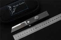 MAGIC Titanium alloy finger tip gyro D2 steel folding knife,...