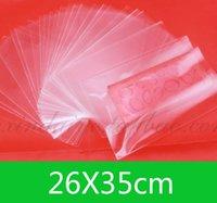 Nuovo OPP Open Top Bag (26x35cm) per la vendita al dettaglio o wholesaleJewelry fai da te sacchetti di imballaggio trasparente 100pcs / lot spedizione gratuita