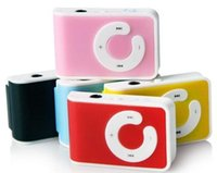 Christmas Gift New Mini Clip USB Mp3 Player with Card Slot S...