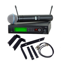 With RACK MOUNTING for Stage!!! UHF PRO WIRELESS DUAL MICROP...