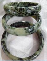 Braccialetti di giada naturale Jadeite 100% naturale di alta qualità 56-60mm D0