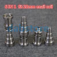 Outils à main universels Nails de Titanium Domeless 10mm 14mm Joint 18mm pour les ongles mâles et femelle GR2 de qualité TOUTES BONGS