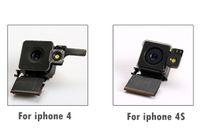 Test Vorlage für iPhone 4 4G 4S rückseitige hintere Kamera-Objektiv-Flash-Modul Bestanden mit Flexkabel Replacemen Teil 10PCS Lot