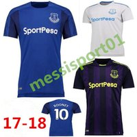 Hot selling 2017 2018 Everton home soccer jersey Top quality...