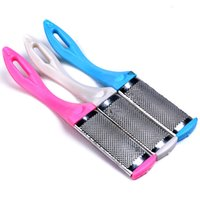 Hot Special Feet Care Tool Metal matte Two- sided Foot Dead D...