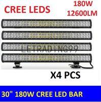 LEDライトバーワークドライビングフォグランプスポットワイドフラッドライトコンボビーム12V 24V Jeep車のトラックSUV 4x4 ATVオフロード180W LEDライトバー