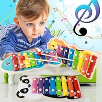 Baby' s Wooden Musical Toys 8- Note Xylophone Children Ha...