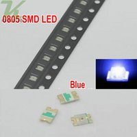 3000 pz / bobina SMD 0805 (2012) LED blu Lampada diodi Ultra Bright SMD 2012 0805 SMD LED Spedizione gratuita