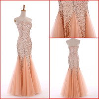 2016 New Long Mermaid Formal Party Ball Gown Sexy lunga sirena formale partito Ball Gown Prom damigella d'onore vestito da sera abiti lunghi da promenade