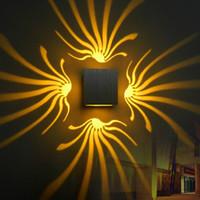 현대 벽 램프 3W 참신 LED 조명 Decoratio AC110V 220V 홈 라이트 침실 Dinningroom KTV 바 입구 조명 WL1080
